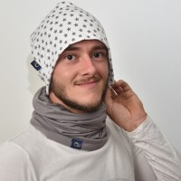 Bonnet de protection anti-ondes pour adolescent, gris jean